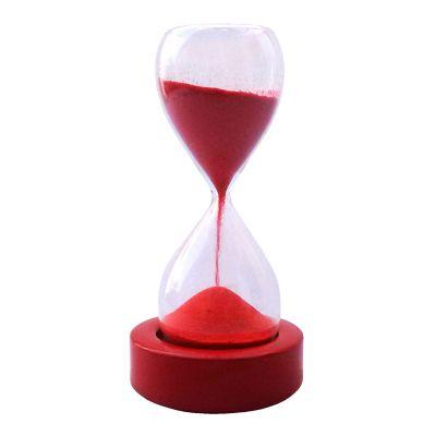 Relógio de areia tipo ampulheta - OZN Produz Presentes Corporati...