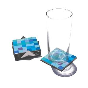 OZN Produz Presentes Corporativos - Porta copo moderno produzido em EVA e lâmina impermeável impressa.