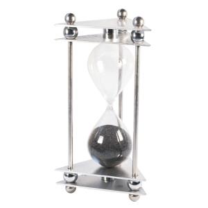 OZN Produz Presentes Corporati... - Relógio de areia, tipo ampulheta com leitura moderna do clássico design.