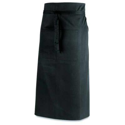 Algodão e poliéster: 145 g/m². Com 2 bolsos. 960 x 800 mm | Bolso: 145 x 200 mm.