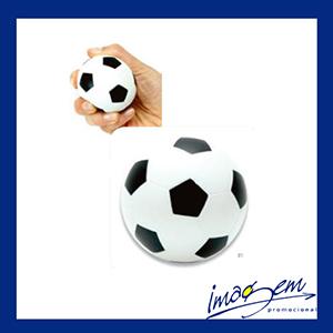 Bolinha anti-estresse com tema de futebol - Imagem Promocional