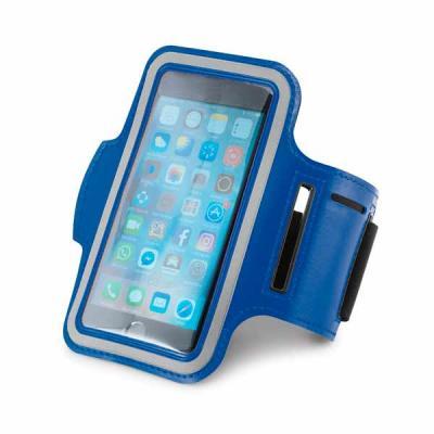 Soft shell de alta densidade. Com elementos refletivos e fecho ajustável. Para smartphone 5''. 43...