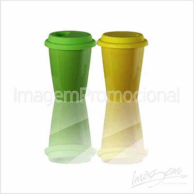 Copo térmico de cerâmica 250 ml com cores a consultar.