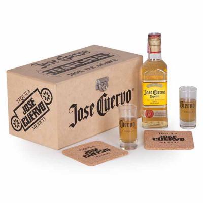 1 Tequila Jose Cuervo Especial ouro 375ml / Graduação Alcoílica 40% / Pais de Origem: México 2 Co...