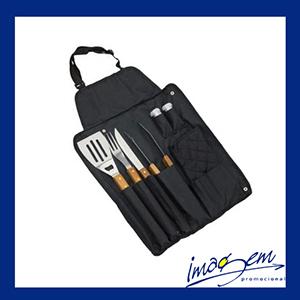 imagem-promocional - Kit churrasco com 08 peças