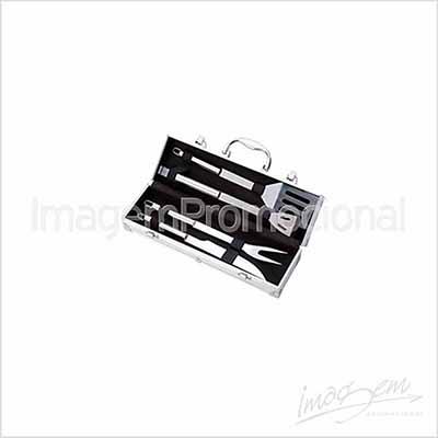 imagem-promocional - Maleta de churrasco com 04 peças.
