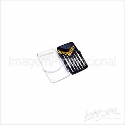 Mini kit chave de fenda. Em embalagem plástica