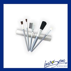 Kit maquiagem em embalagem de alumínio