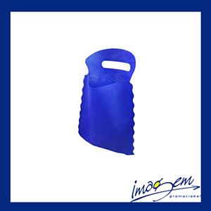 Lixocar lixeira para automóvel na cor azul