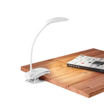 ABS. LED COB. Com mola, braço flexível e botão tátil com 3 modos de luz (fraco, médio e forte). A...