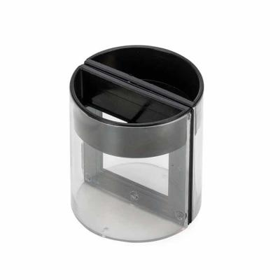 Porta caneta com porta fotos e porta clips. Material plástico resistente com detalhes preto, poss...