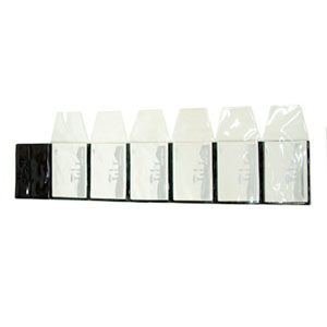 Eletroplast - Embalagem personalizada tipo display, com 6 envelopes destacáveis (outras medidas, materiais e detalhes sob consulta). Medidas: 5 L x 7 A + 4 cm de ab...