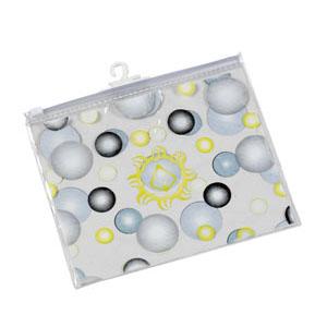 Eletroplast - Envelope personalizado em PVC cristal, com zíper de PVC e cabide (outras medidas, materiais e detalhes sob consulta). Medidas: 20 L x 16 A cm.