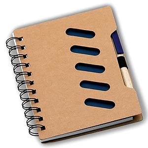Classic Pen Brindes - Bloco de Anotações Ecológico