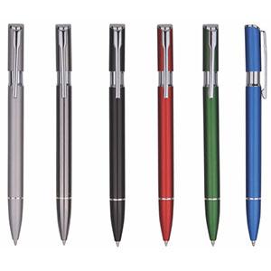 Classic Pen Brindes - Caneta para brindes de alumínio, cores variadas.