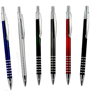 Classic Pen Brindes - Caneta promocional de alumínio. Peso: 14 g