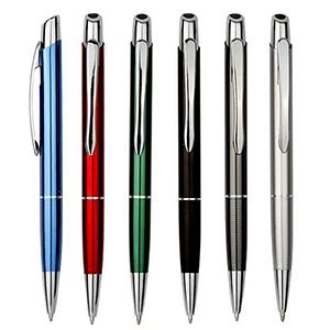 Classic Pen Brindes - Caneta personalizada de alumínio, diversas cores.