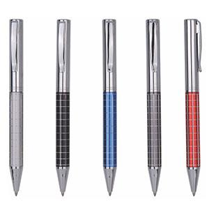 classic-pen-brindes - Caneta esferográfica de metal, cores variadas
