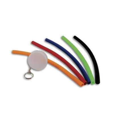 Canudo flexível em silicone