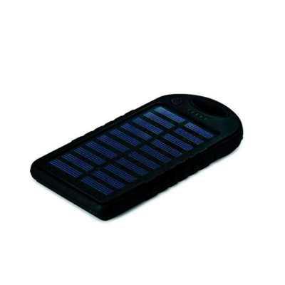 classic-pen-brindes - Bateria portátil solar power bank personalizado
