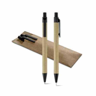 Conjunto reciclavel personalizada - Classic Pen Brindes