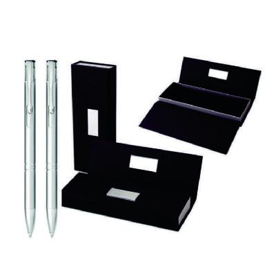 classic-pen-brindes - Conjunto de caneta e lapiseira de metal