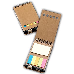 classic-pen-brindes - Porta-recado com sticky-notes
