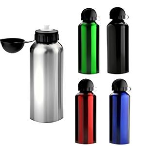 Classic Pen Brindes - Squeeze de aço inox 400 ml. Tamanho total (CxD): 18,5 x 21,0 cm. Peso: 102 g, cores variadas