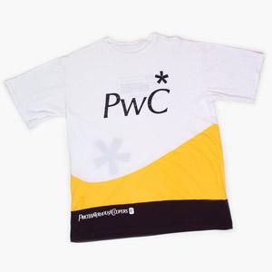 YKZ - Moda e Produtos Corporativos - Camiseta personalizada com recortes.
