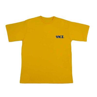 YKZ - Moda e Produtos Corporativos - 100% algodão, silk frontal, lado esquerdo peito  com até 03 cores.