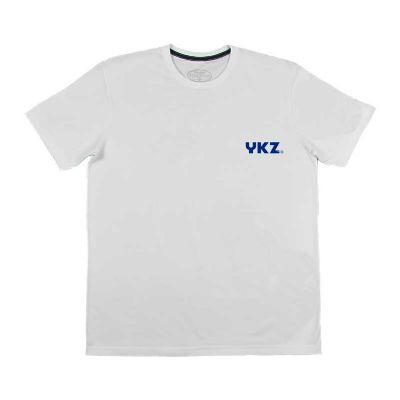 YKZ - Moda e Produtos Corporativos - 100% algodão, silk frontal, lado esquerdo peito com até 03 cores