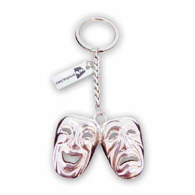 mkorn - Chaveiro Metálico personalizado Máscaras