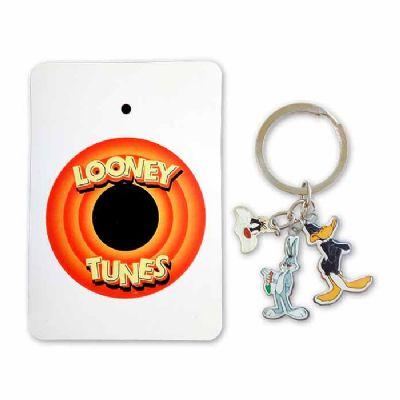 mkorn - Chaveiro metálico personalizado Looney Tunes