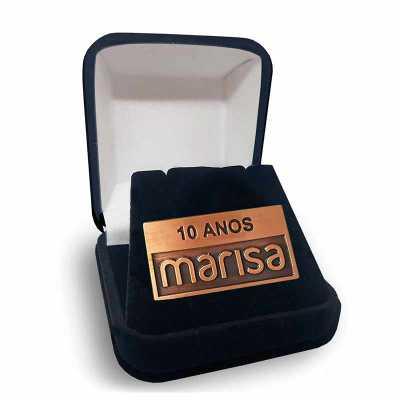 mkorn - Pin Marisa reconhecimento por tempo de serviço