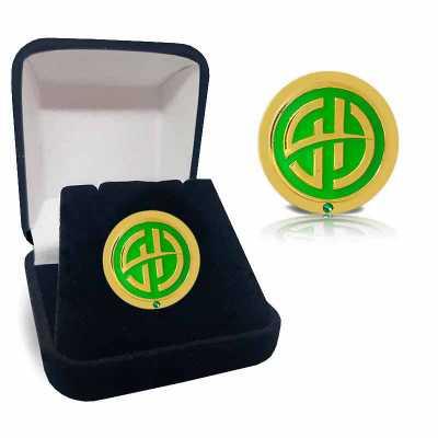 MKorn - Pin AGR Emerald