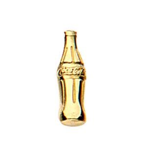 MKorn - Pin com banho de ouro, em 2D, com impressão alto e baixo relevo.