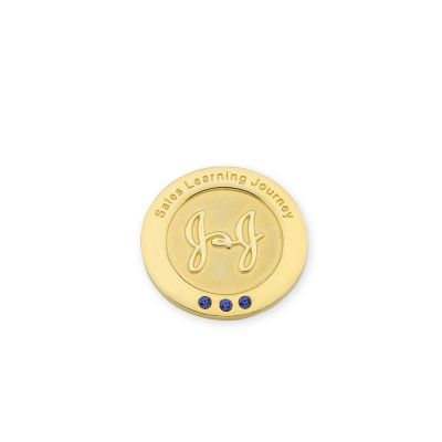 MKorn - Pin em ouro J&J