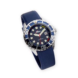 MKorn - Relógio de pulso análogo com mecanismo quartz, caixa de aço e pulseira em PU.