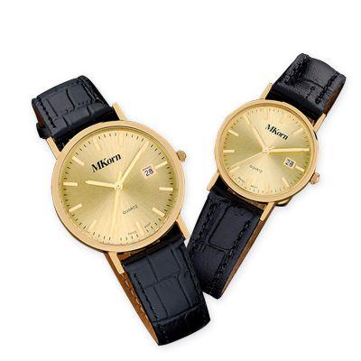 MKorn - Relógio de pulso análogo com mecanismo quartz