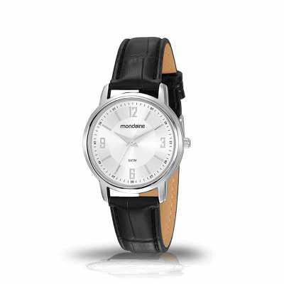 mkorn - Relógio de Pulso Mondaine Prateado