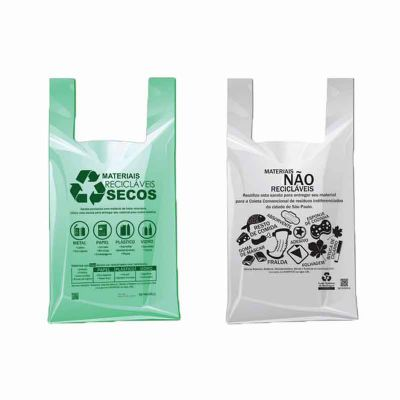 Galeon Brindes e Embalagens Pr... - Sacola plástica em PEBD e PEAD - alça camiseta