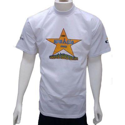 Galeon Brindes e Embalagens Promocionais - Camiseta masculina em malha com gola careca.