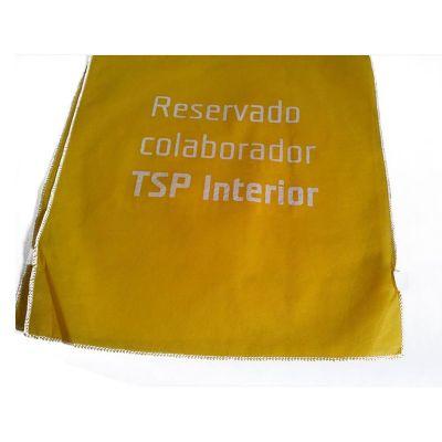Galeon Brindes e Embalagens Pr... - Capa de cadeira em TNT amarelo