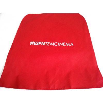 Galeon Brindes e Embalagens Pr... - Capa de cadeira em TNT vermelho
