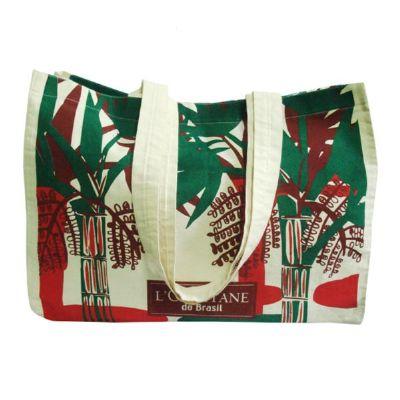 Galeon Brindes e Embalagens Promocionais - Sacola personalizada em algodão cru - Medidas: 38 x 35 x 10 e 2 alças. Sua marca presente no dia a dia dos clientes.