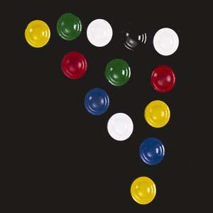Tinta Mágica - Botões magnéticos coloridos.