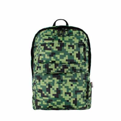 Mochila com 02 bolsos frontais em zíper, bolsos internos, puxador de cursor e alça com regulagem ...