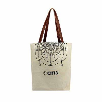 Sacola personalizada de algodão - CM3