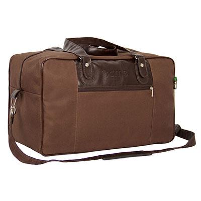 CM3 Ind. e Com. Ltda. - Bolsa chocolate. Bolsa indicada para viagens, passeios e para o dia a dia. Perfeita pra presentear seu cliente. Medidas em cm: L43,0/H28,0/P23,0. Mate...