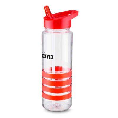 Garrafa transparente 700 ml com alça - CM3